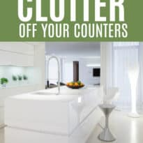 How to Keep Clutter Off Your Counters