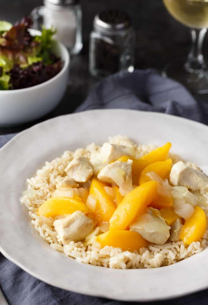recipe: easy peach chicken recipe [24]