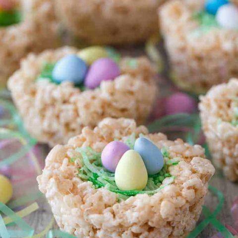 Krispie Easter Nests