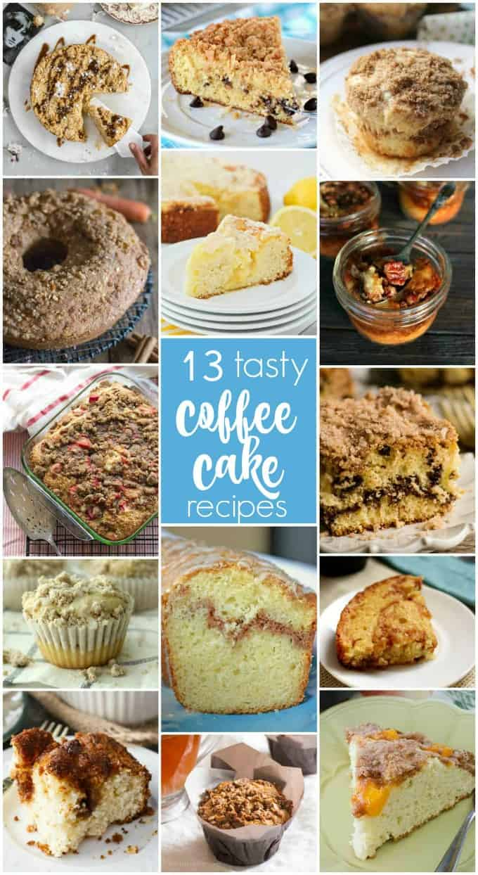 13 Tasty Coffee Cake Recipes