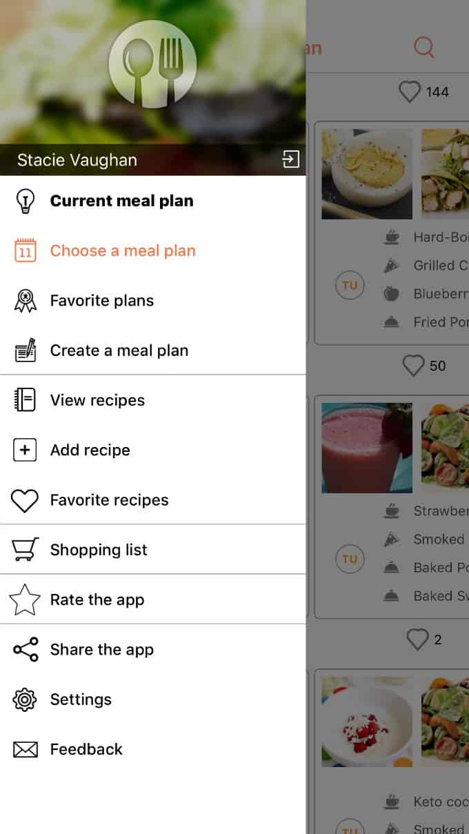 Meal Planning Made Easy with Recipe Calendar - If you ever wanted to try meal planning, you need to try Recipe Calendar. It will help you stay organized, save you money and keep you on track with your diet.