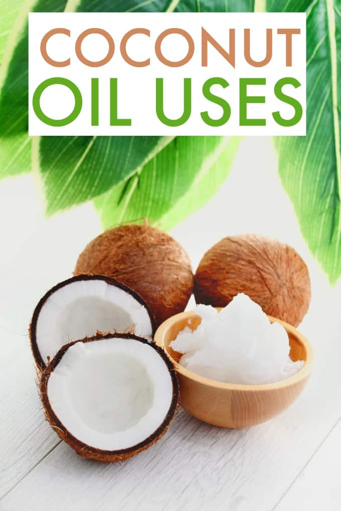 Coconut Oil Uses - Coconut oil is for more than just cooking! In fact, it has many uses. Discover coconut oil uses that you can try today in your home for cleaning, beauty and more.