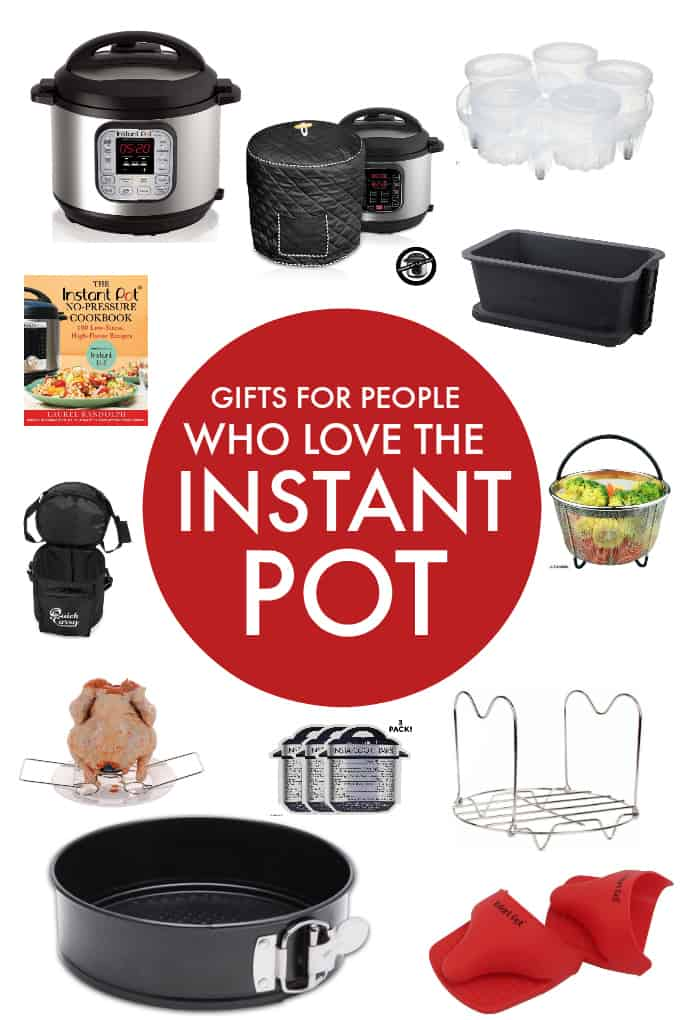 Gifts for People Who Love the Instant Pot - This Instant Pot gift guide is full of functional accessories to use with the Instant Pot and maximize it to its fullest potential.