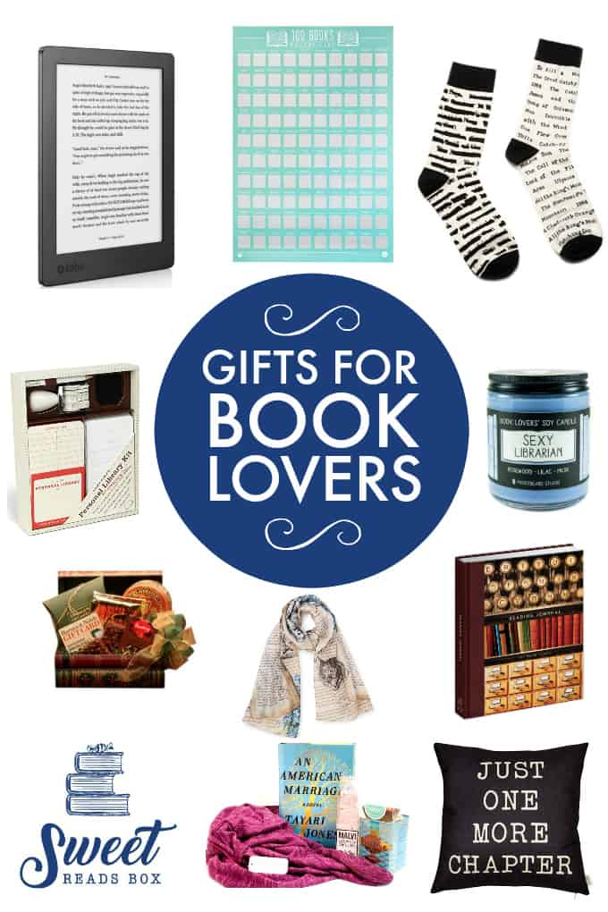 Gifts for Book Lovers - Searching for gifts for book lovers? This comprehensive gift guide has loads of ideas for the reader in your life. Any bookworm would love these presents and they are perfect for any occasion including birthdays and Christmas!
