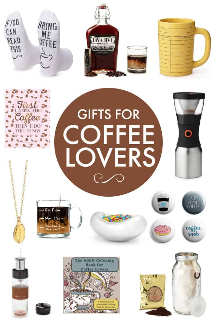 Gifts for Coffee Lovers - Got a coffee drinker on your gift list? I got you covered with this diverse selection of gifts for coffee lovers guaranteed to be loved by any coffee drinker! Skip the gift card this year and buy them a nice coffee gift!
