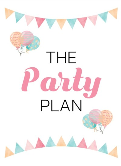 8 Free Party Planning Printables to Keep You Organized