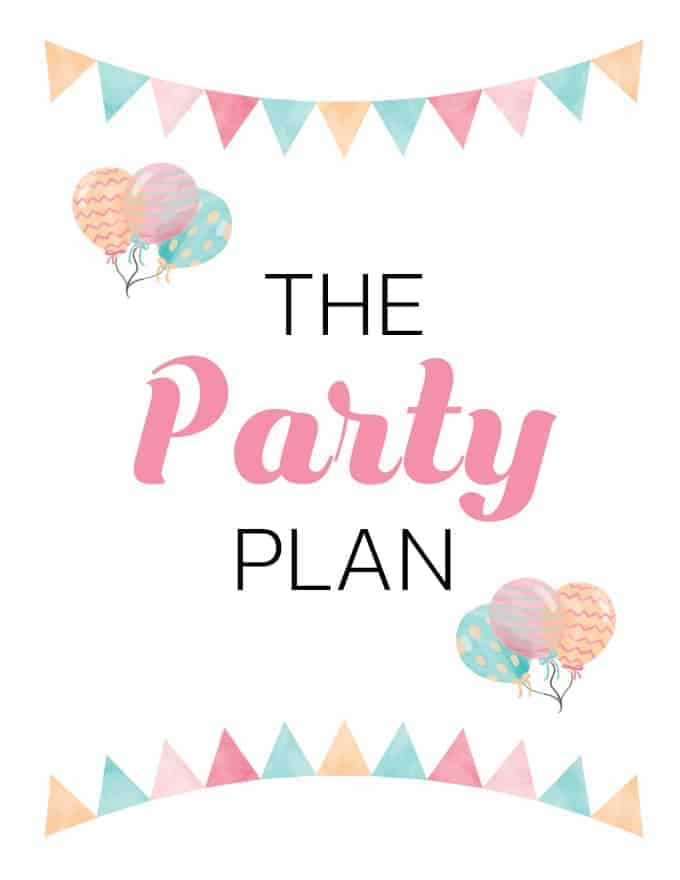9 Free Party Planning Printables to Keep You Organized - This handy Party Planning Kit includes everything you need to plan the best party ever. Save your sanity and PLAN ahead!