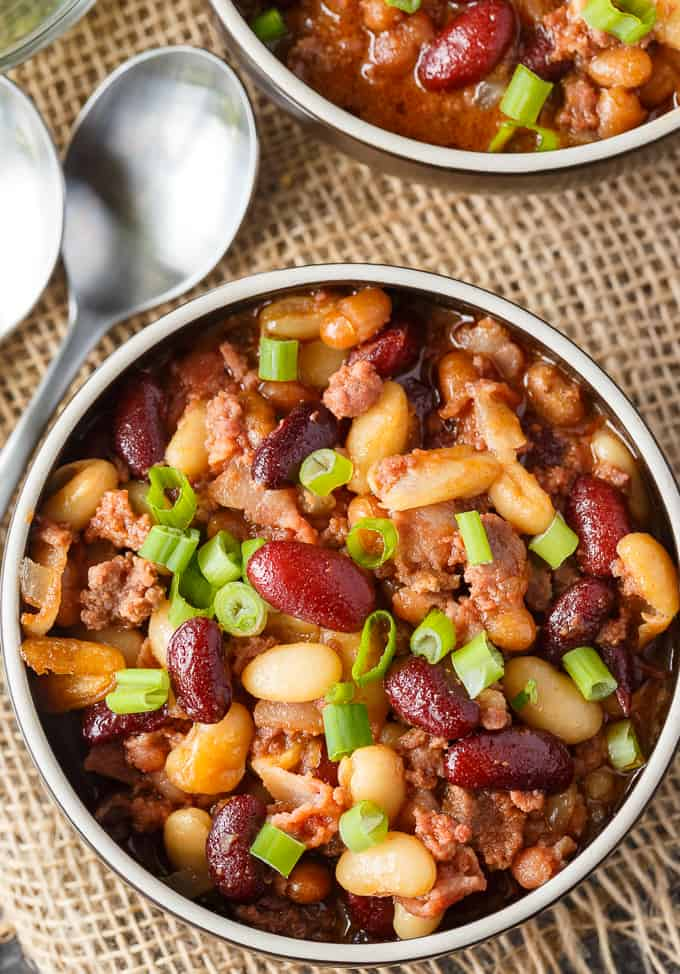 Bean Casserole - A fiber packed meal your family will love! It's tasty, hearty and filling.