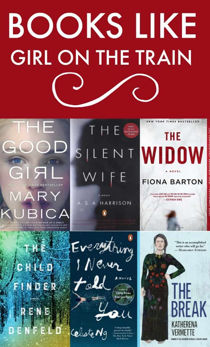 Books Like Girl on the Train - Loved this captivating thriller? Keep your reading list full with these similar book selections!