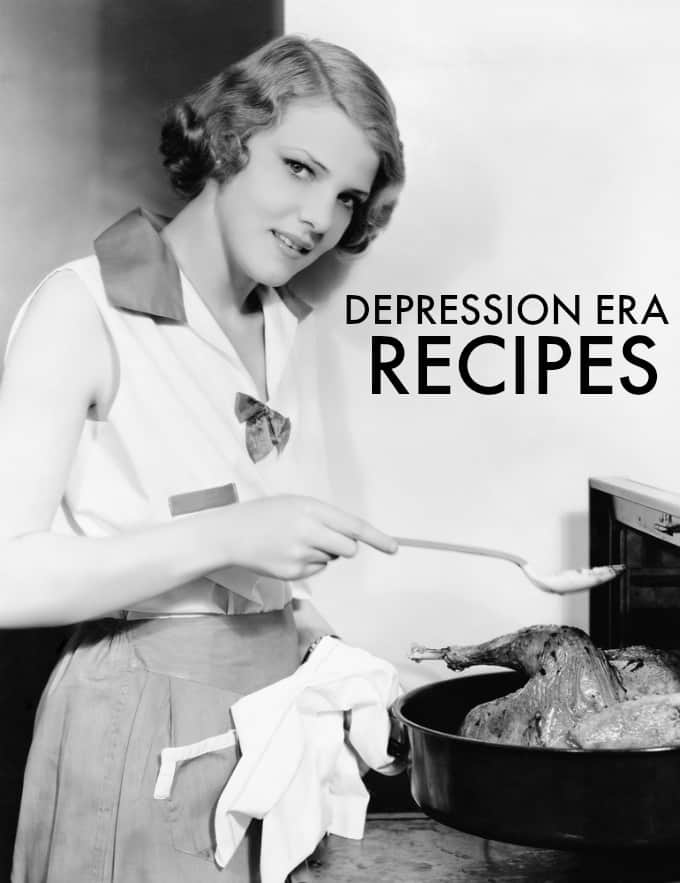 Depression Era Recipes to Bring Your Cooking Back to Basics - Simple, affordable and delicious! See what recipes were popular during the Great Depression.