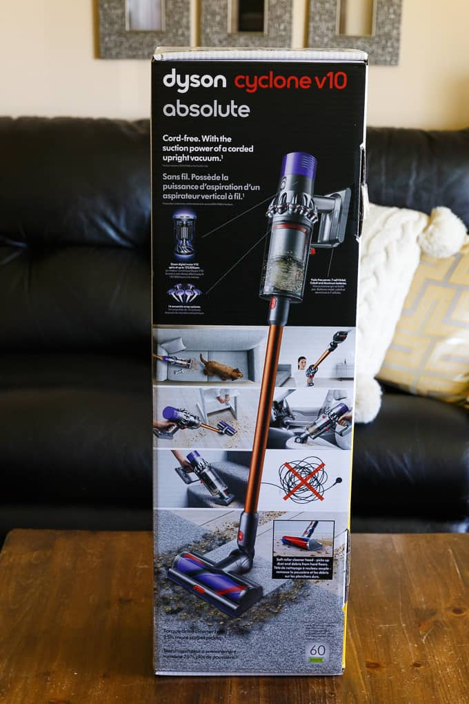 Meet the Dyson Cyclone V10 Absolute Cord-Free Vacuum