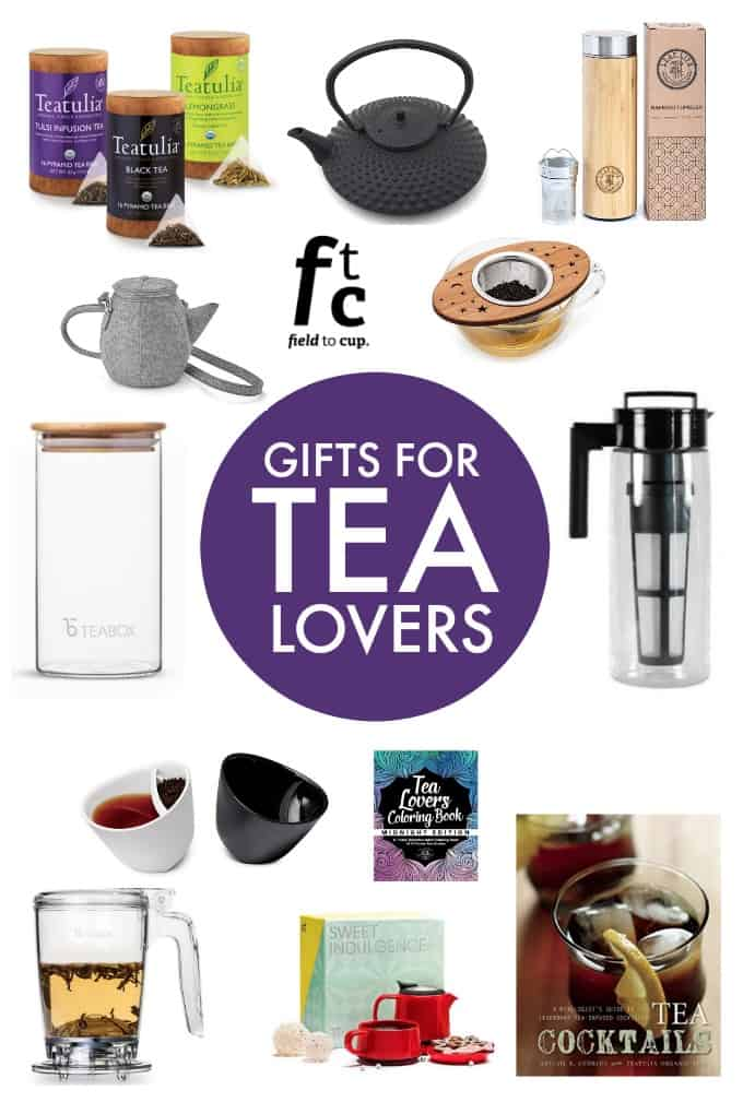 Gifts for Tea Lovers - Looking for tea gifts? This handy gift guide has a wide variety of products that any tea drinker would love!