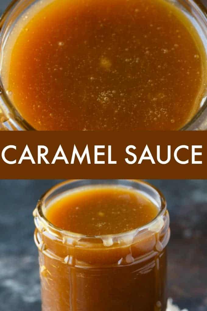 Caramel Sauce - This luscious sauce is silky smooth and perfect for ice cream or dipping apples.
