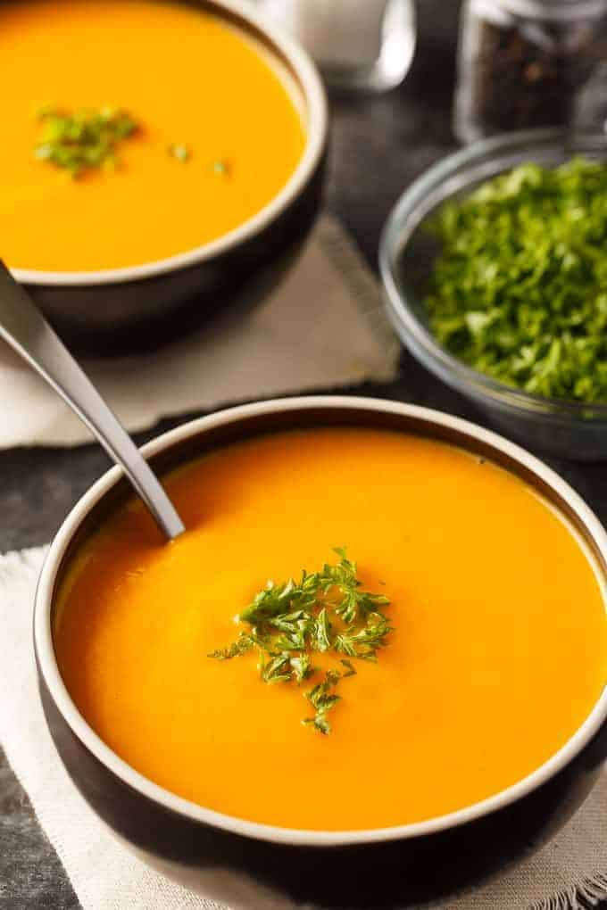 Cream Of Carrot Soup Simply Stacie