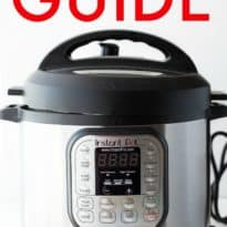 Instant Pot Guide