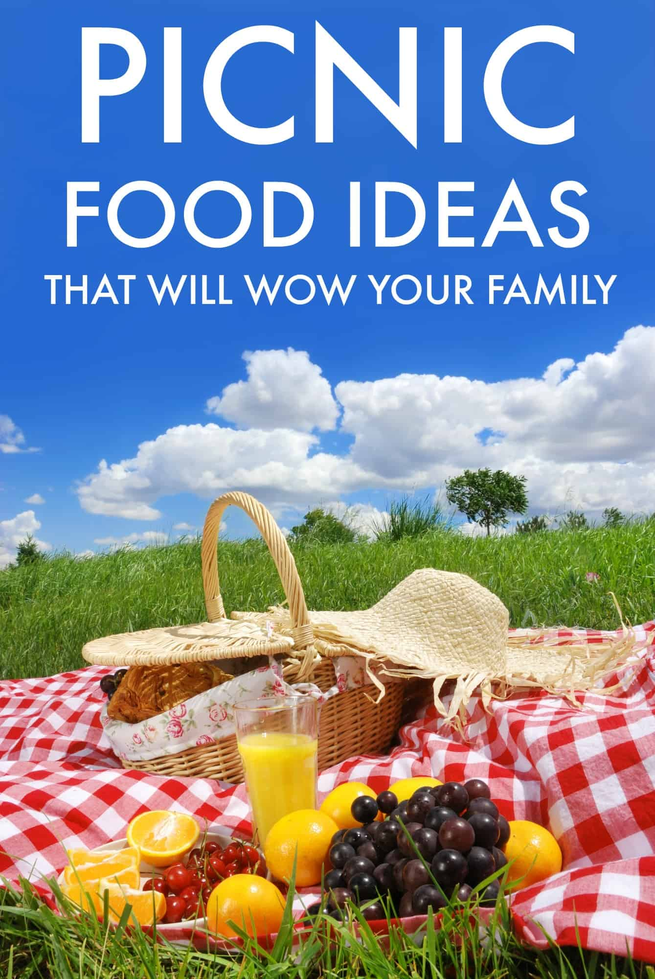 Picnic Food Ideas That Will Wow Your Family - Eat well and enjoy your picnic!