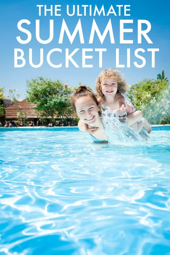 The Ultimate Summer Bucket List - Get ideas for fun things to do and see this summer.