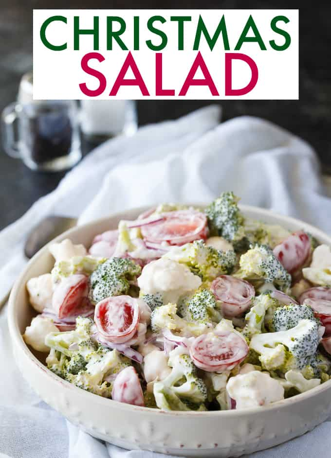christmas salad contains all the colors of christmas this fresh bright salad is
