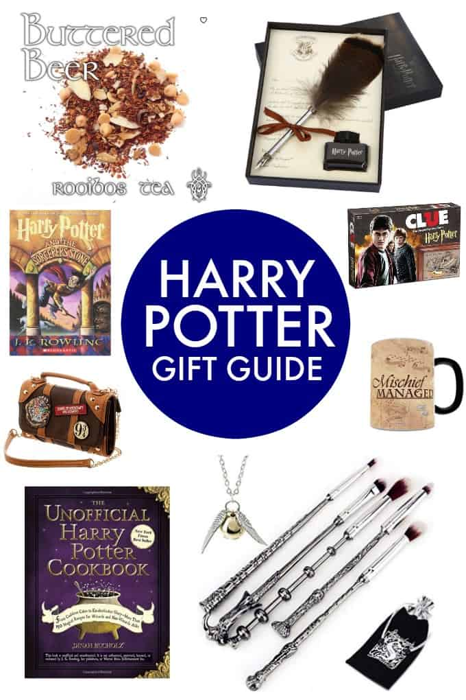 Harry Potter Gift Guide - Perfect for any fan of the series or anyone who needs a little bit of childhood magic back in their life, these Harry Potter gifts are perfect for just about anyone.