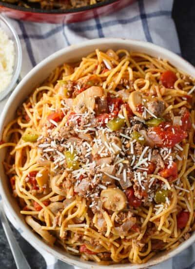 One-Pan Spaghetti