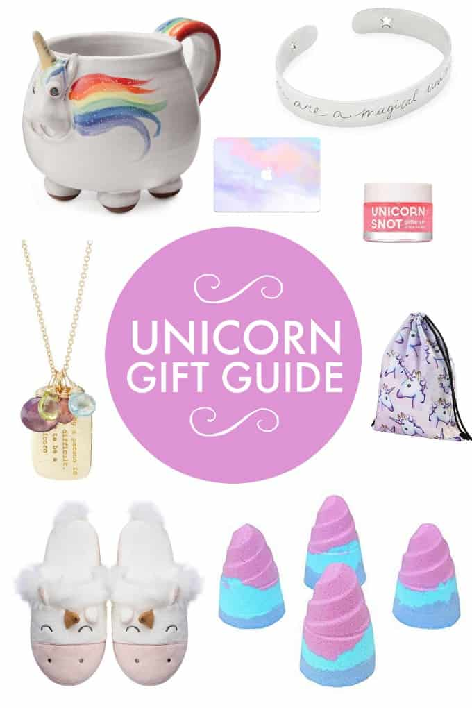 Unicorn Gift Guide - Add a touch of unicorn magic with these delightful gift ideas.