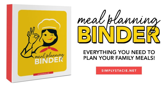 Meal Planning Binder Graphic
