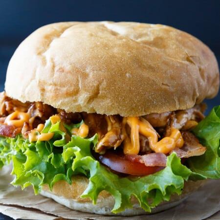 Hoisin Chicken BLT Sandwich