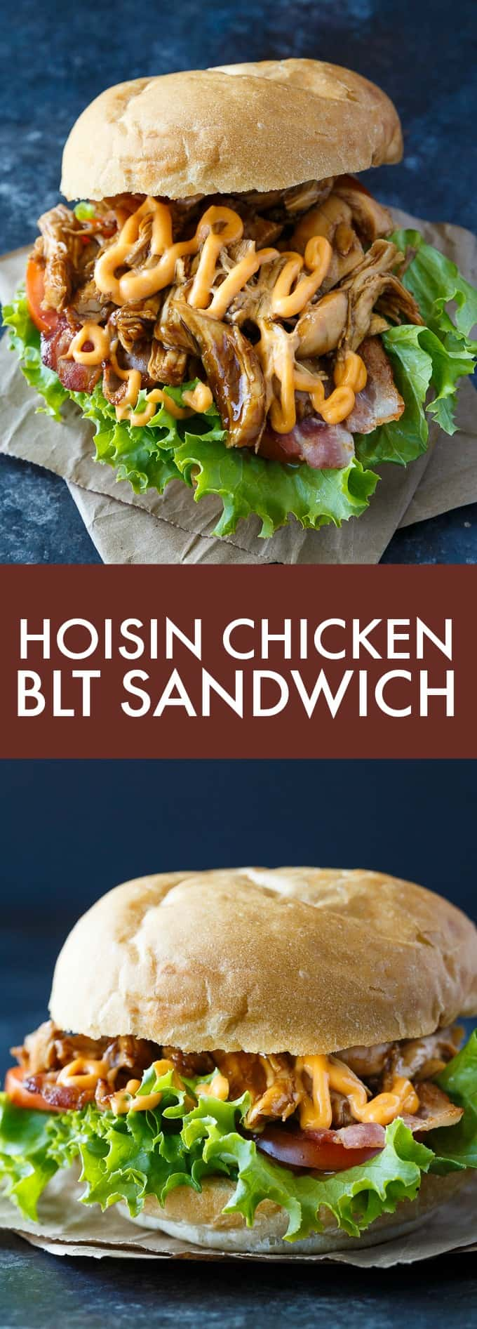 Hoisin Chicken BLT Sandwich - The perfect blend of sweet and spicy! This delicious sandwich recipe is one you'll make again and again.