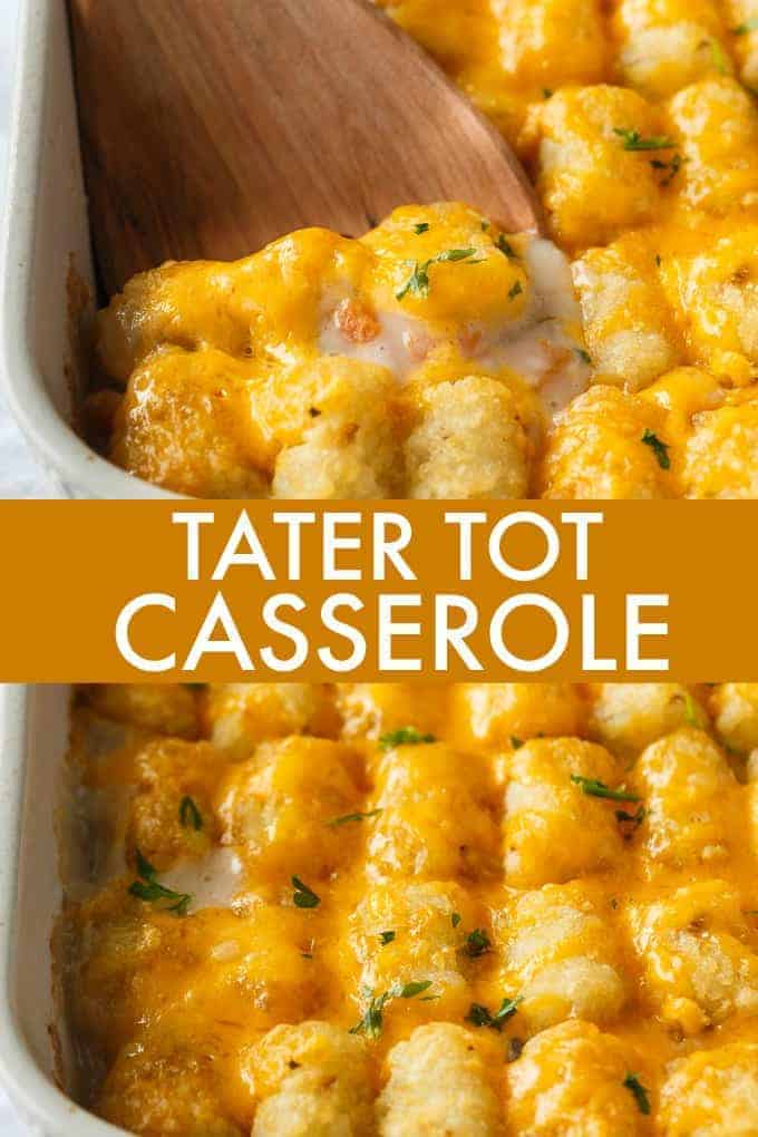 Tater Tot Casserole - Simply Stacie
