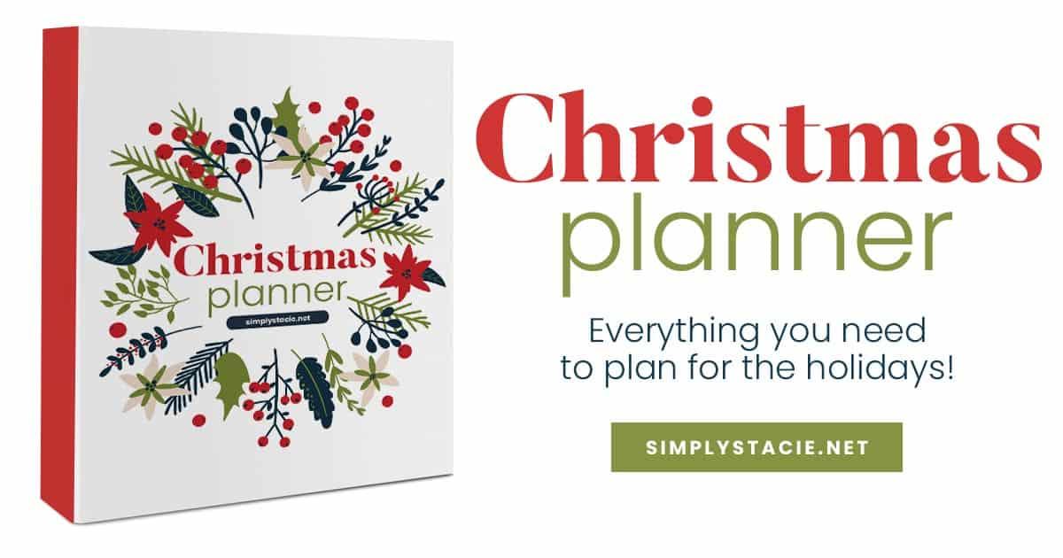 christmas planner image