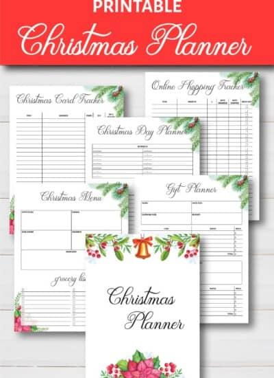 Christmas Planner Free Printable