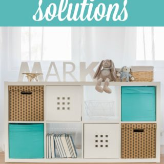 Restore Your Sanity With These Toy Storage Solutions - Get your kid's toys organized with these simple tips!
