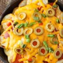 Potato Nachos