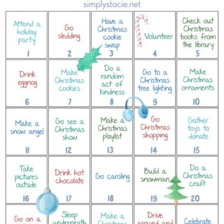 Countdown to Christmas Free Printable