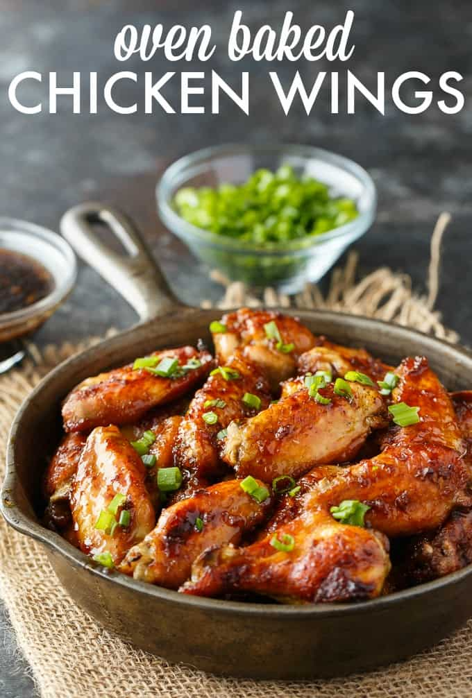 Oven Baked Chicken Wings Simply Stacie