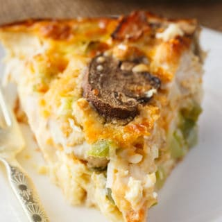 Impossible Chicken Pie