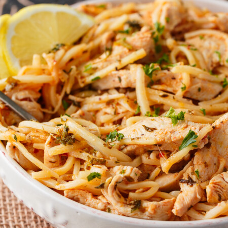 Keto Butter Chicken with Noodles