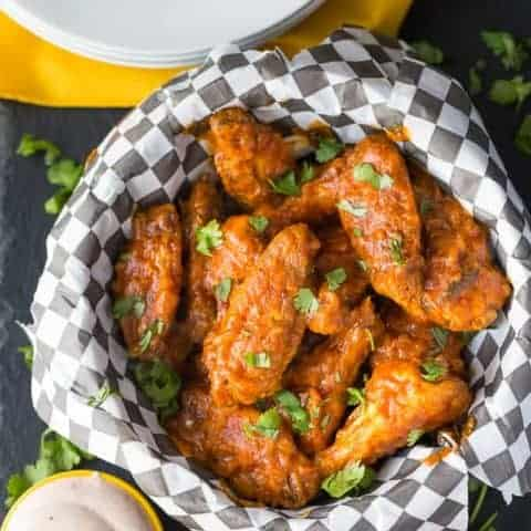 Spicy Butter Chicken Wings
