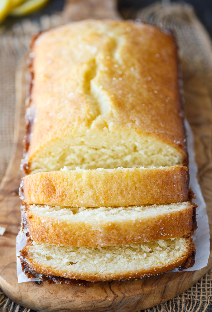 Lemon Bread - Moist and sweet with a delicious tangy lemon flavor. This easy recipe is a must-try!