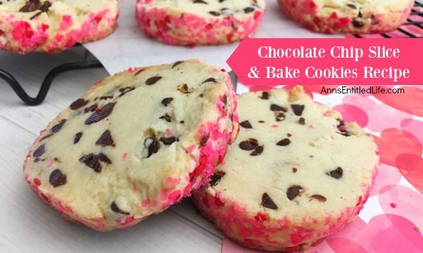 Chocolate Chip Slice and Bake Cookies