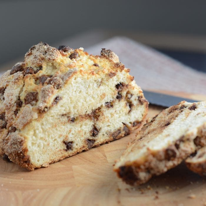 Chocolate Chip Soda Bread