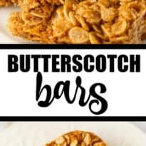 Butterscotch Bars - Super sweet and rich! This easy dessert is a bit like a brown sugar fudge, but with more goodness added.