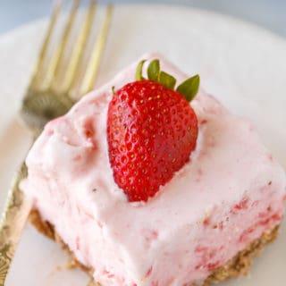 Frozen Strawberry Fluff