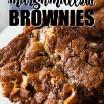 Disappearing Marshmallow Brownies - A sweet church cookbook brownie recipe filled with chocolate, butterscotch and marshmallows. Each bite is pure decadence.