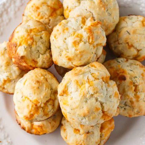 Cheddar Dill Muffins