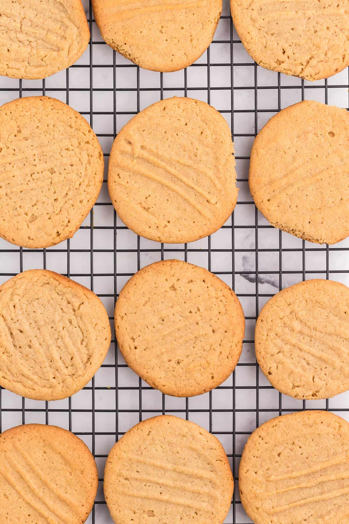 Peanut Butter Cookies - This classic homemade cookie recipe is quick and easy to make. Each bite is soft, chewy and full of peanut butter flavor that everyone knows and loves.