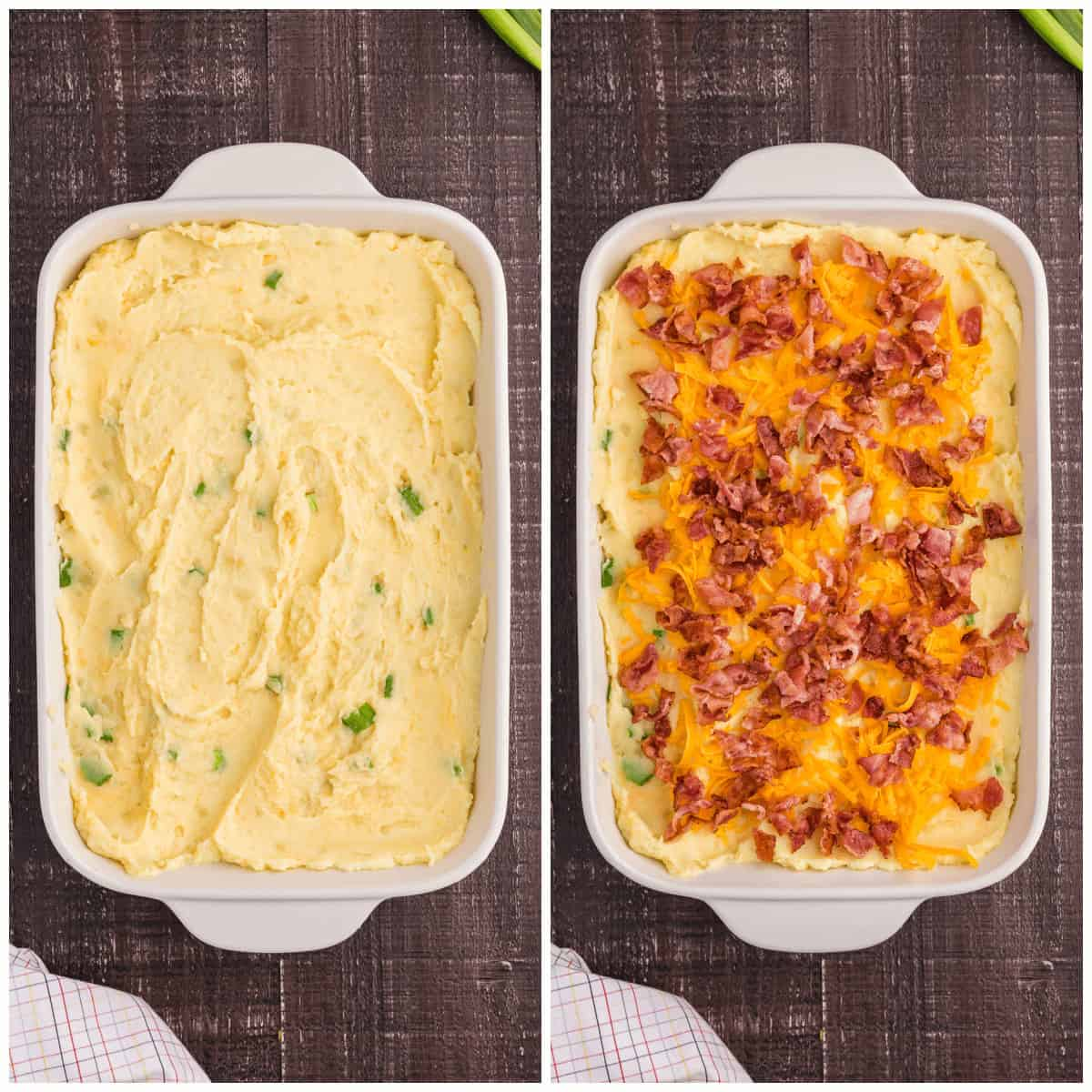 Making Loaded Mashed Potatoes