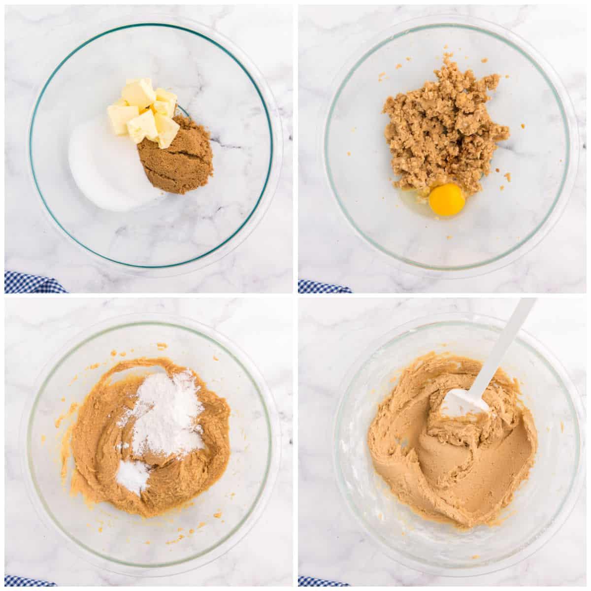 Peanut Butter Cookies prep