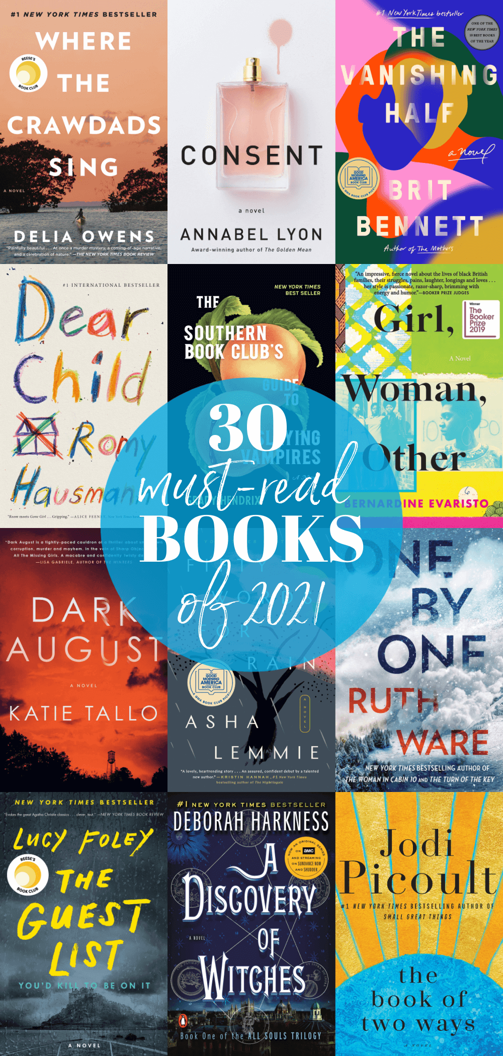 30 Books You Should Read in 2021 - Looking for some awesome books to enjoy this year? Check out our list of 30 books you should read in 2021 to find your next book!
