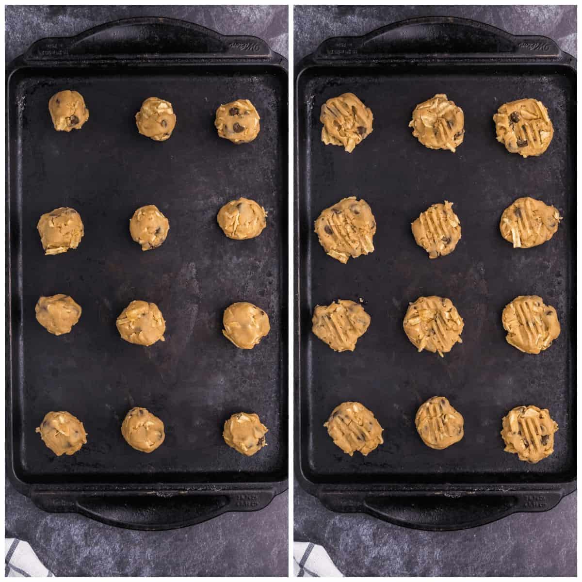 Potato Chip Cookies Prep